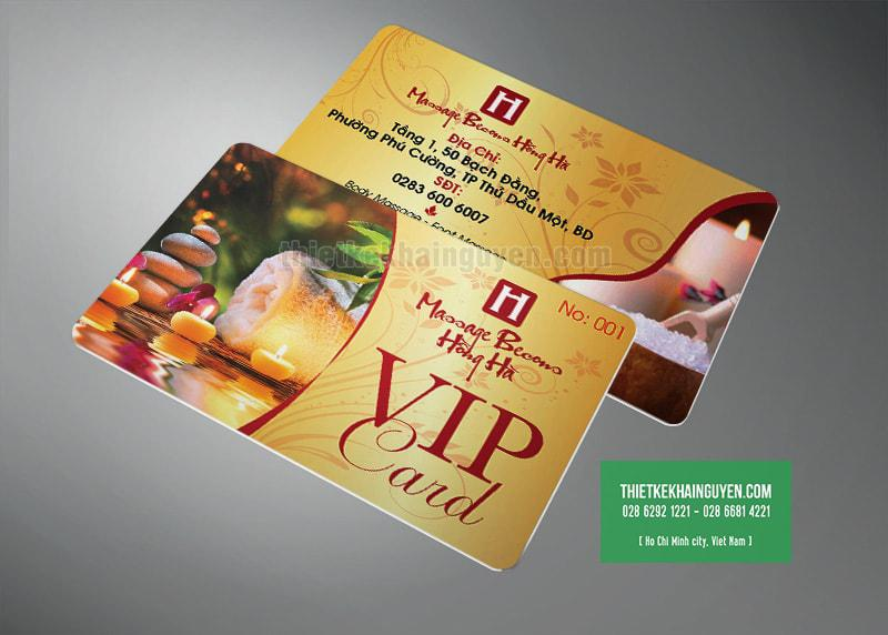 Hồng Hà - VIP card Message & Beauty
