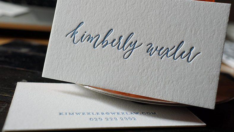 Font chứ thiết kế card visit, name card, danh thiếp