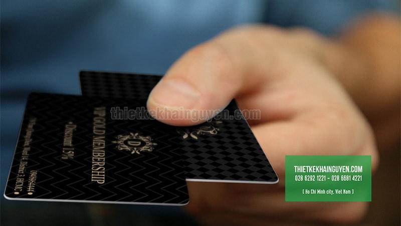 Gold MemberShip Card - thẻ vip in bằng nhựa PVC 4 lớp