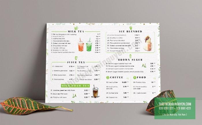 Tea House - Milk Tea and Coffee đơn giản nhẹ nhàng