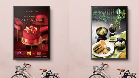 20 thiết kế menu dán tường, menu treo tường siêu đẹp