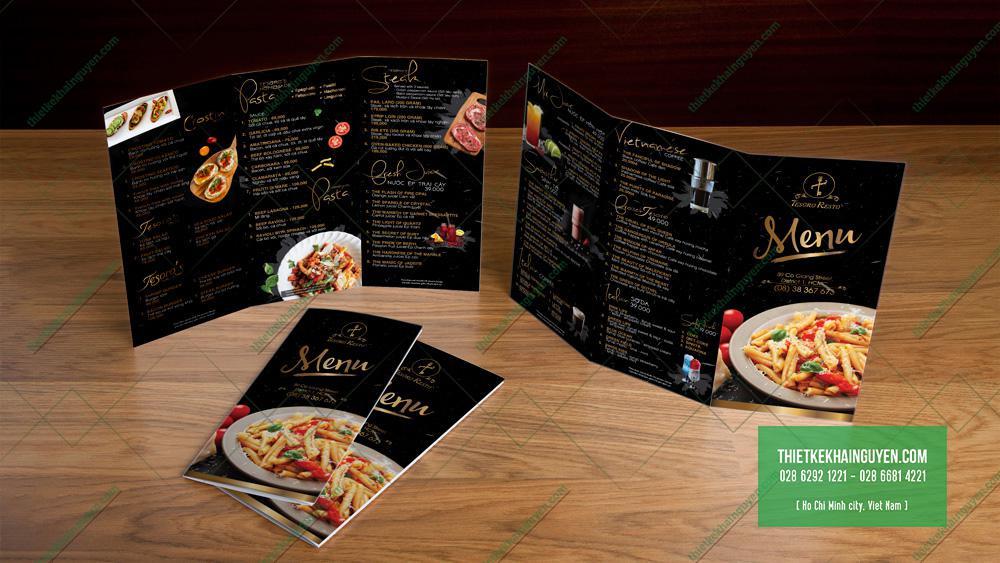 Menu mang về, menu togo cho nhà hàng