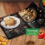 Huyền bí đầy sức hút từ thiết kế thực đơn nhà hàng mì Ý tại Trung Quốc