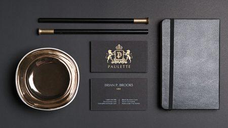 20+ mẫu namecard ép kim vàng cao cấp – ấn tượng nhất hiện