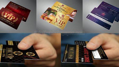 Mẫu VIP card – thẻ VIP- member card – thẻ thành viên 2019.