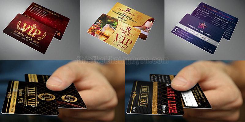 In thẻ VIP TPHCM với chất liệu nhựa PVC