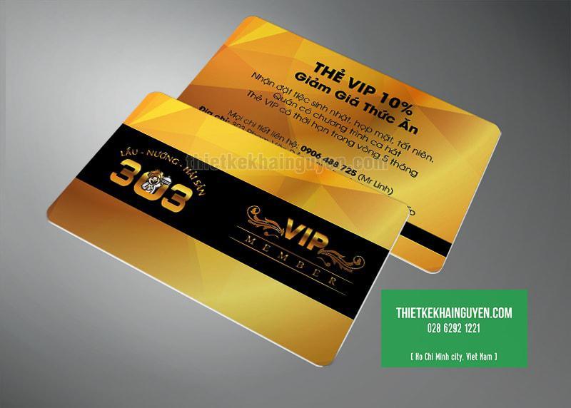 Thẻ VIP giảm giá 10% cho nhà hàng