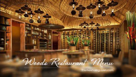 15+ mẫu menu gỗ nhà hàng vừa sang, đẹp lại còn bền