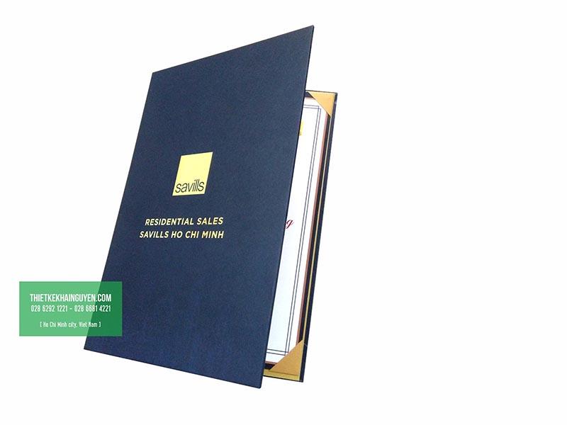Mẫu bìa bằng khen công ty - dạng bằng bìa cứng