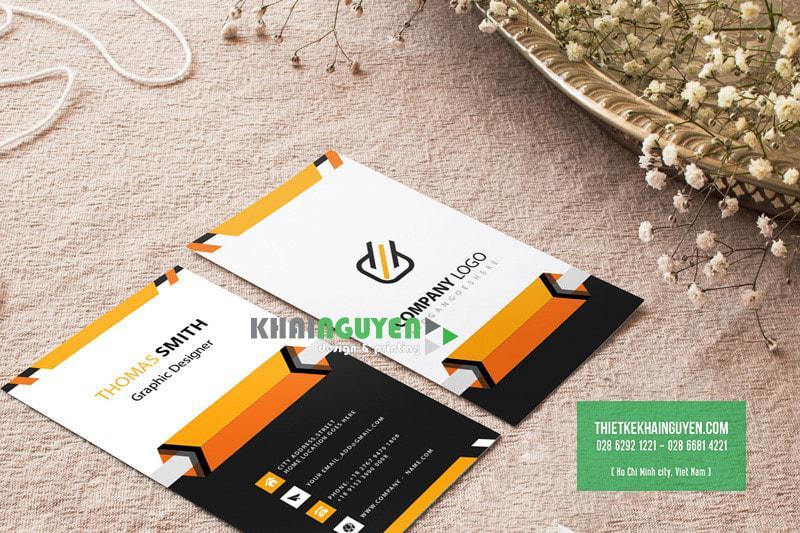 In card giá rẻ với thiết kế name card miễn phí