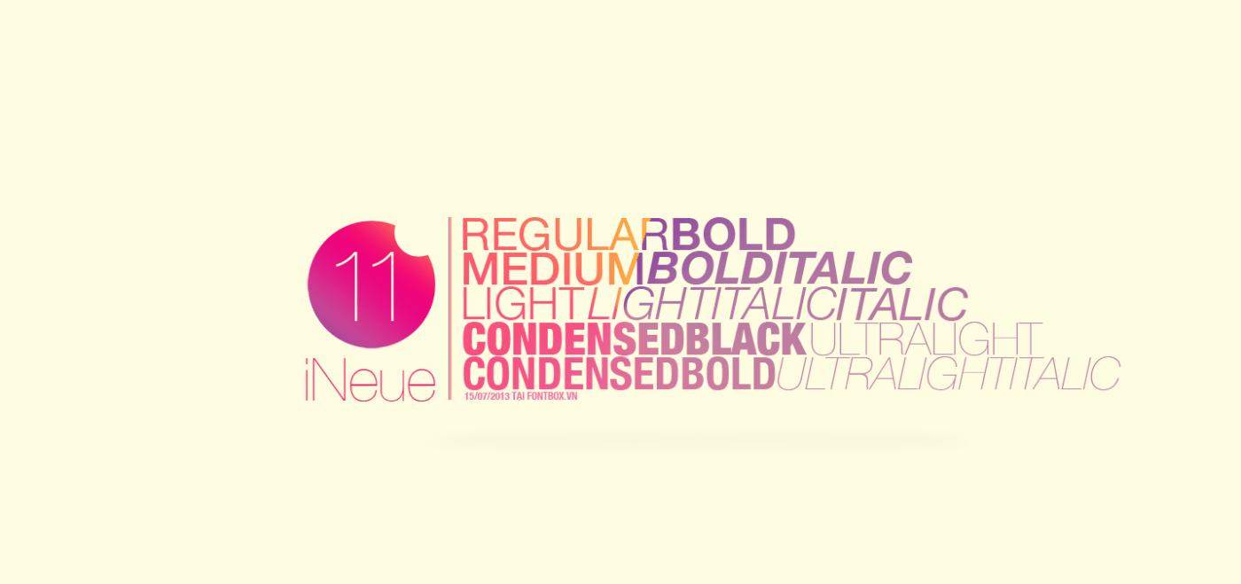 Sử dụng font chữ Helvetical cho thiết kế menu thêm đẹp