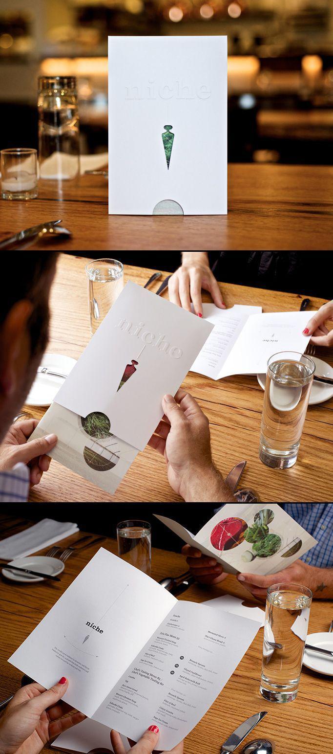 Menu thiệp mời - kiểu in menu đầy thú vị