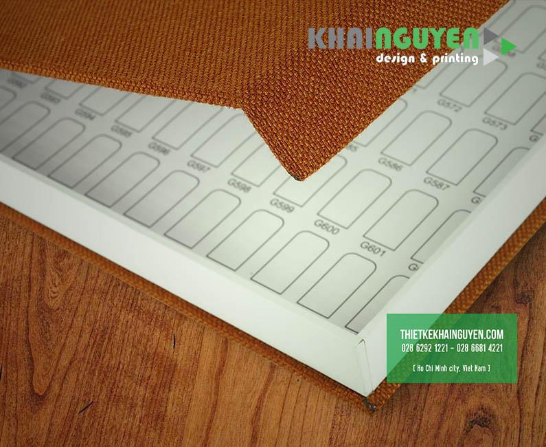 In Hộp Đựng Nail từ Vải và Nhựa vô cung chuyên nghiệp