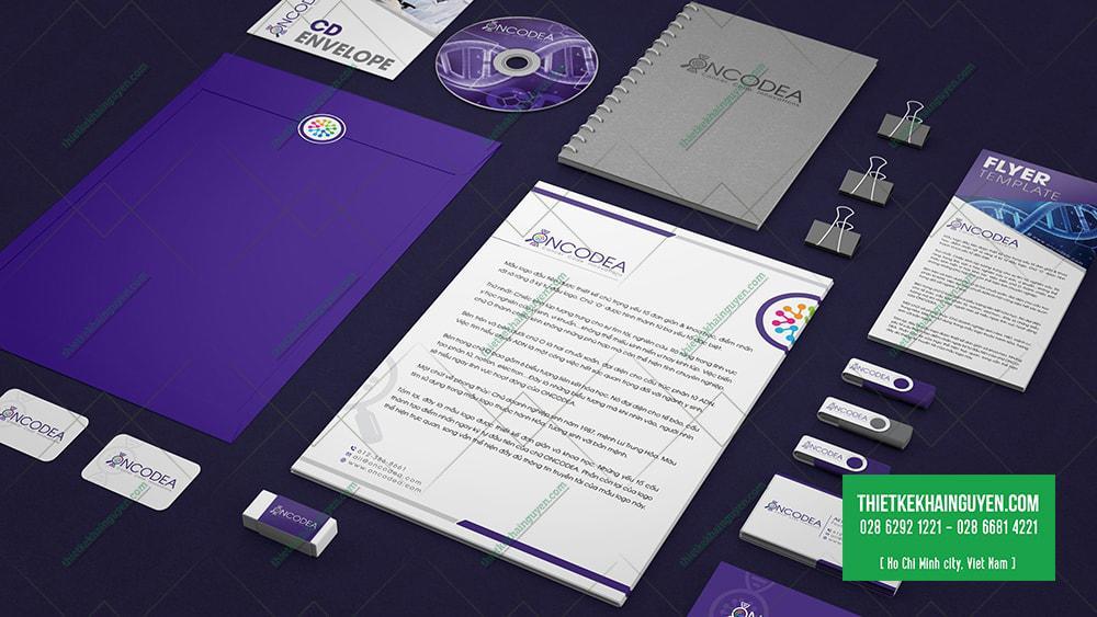 Bộ nhận diện Y Học - ONCODEA Design