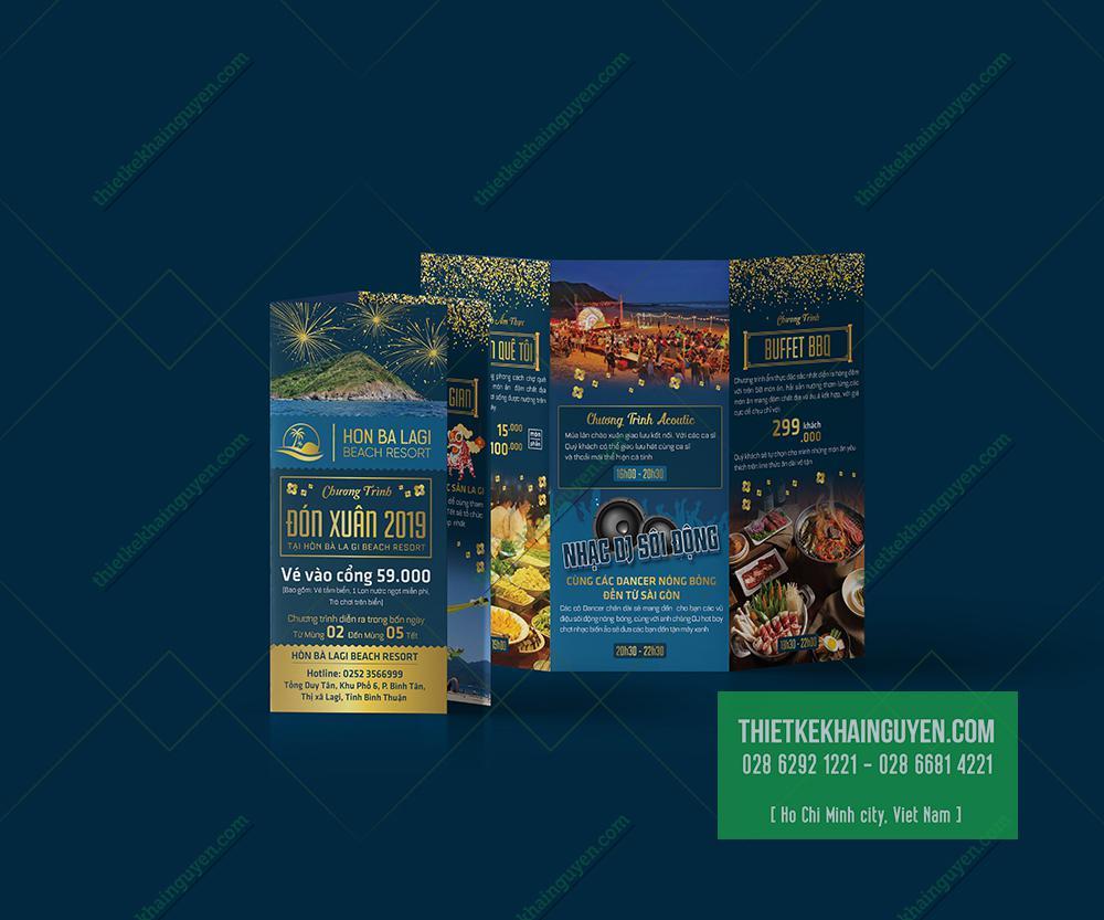 Brochure quảng cáo Hon Ba Lagi Beach Resort