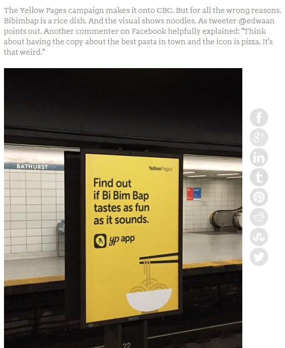 Một nhầm lẫn nhỏ trong quảng cáo, gây hiểu lầm lớn