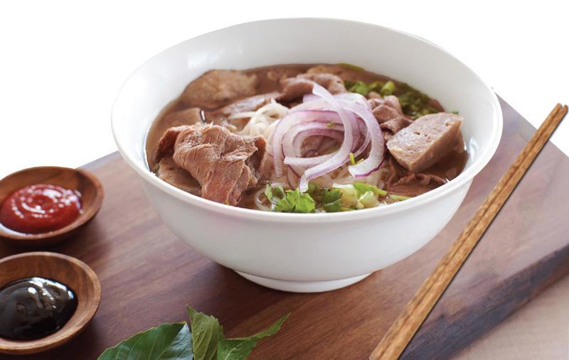 Món phở Việt đậm đà và bổ dưỡng