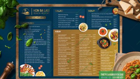 Thiết kế in ấn Resort – Hon Ba Lagi Beach