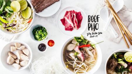 10 mẫu menu phở đẹp cho nhà hàng – đậm đà hương vị Việt.