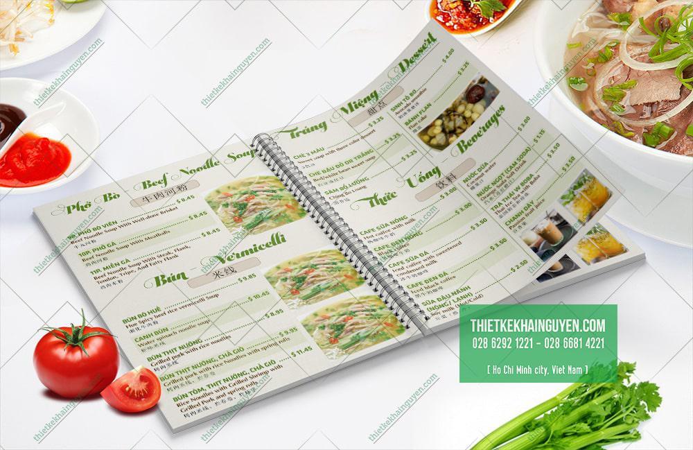 Những món ăn khác trong menu của nhà hàng Việt Kitchen