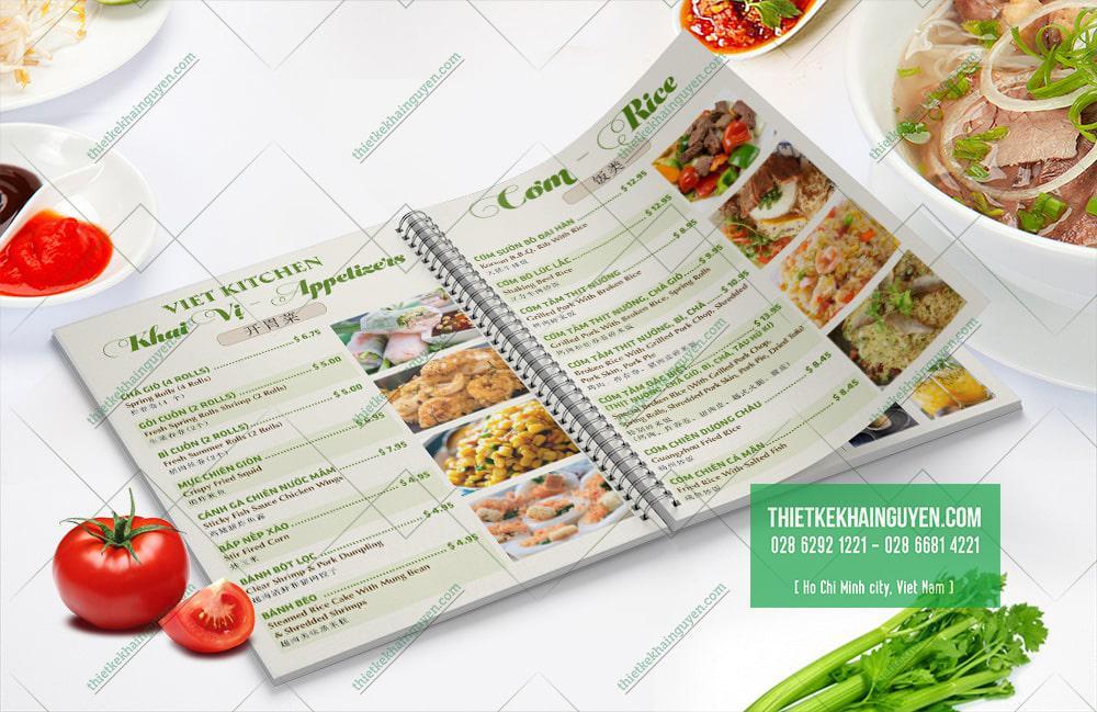 Những món ăn hấp dẫn mang đậm hương vị Việt trong thực đơn nhà hàng Việt Kitchen