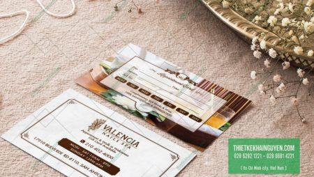 Name card cho Spa – cách thiết kế card cho spa cực chất.