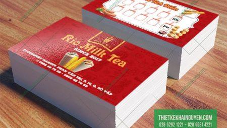 20+ Mẫu thẻ tích điểm đổi quà dễ thương cho các quán trà sữa, cà phê.