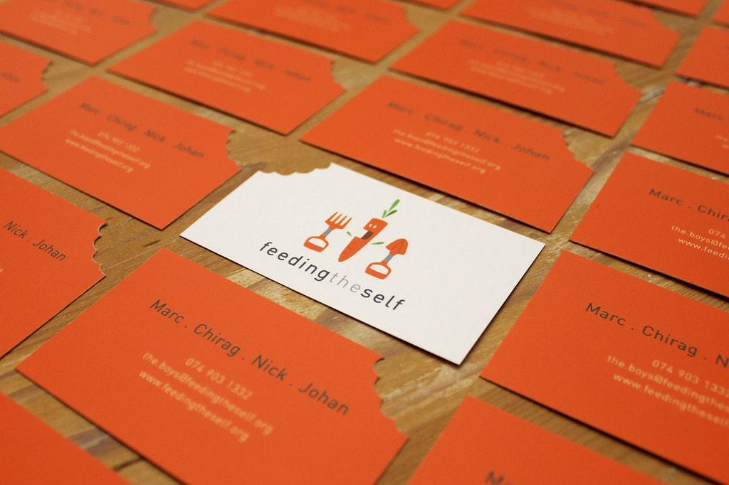 Die cut card visit phần góc sáng tạo