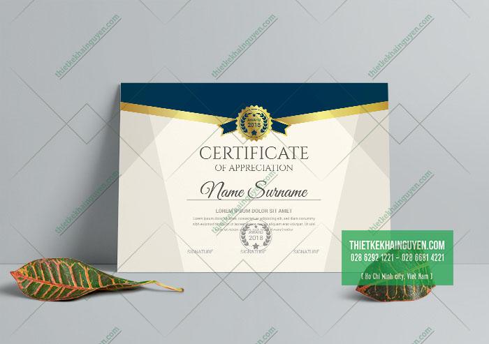 Certificate template - mẫu bằng chứng nhận đẹp