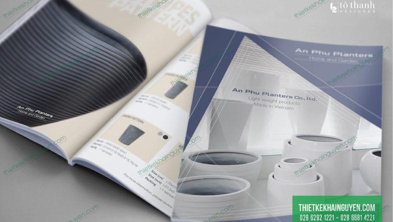 Catalogue keo gáy A4 chuẩn