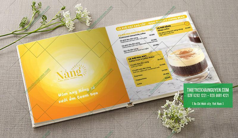 Nắng Cafe - vàng rực rỡ