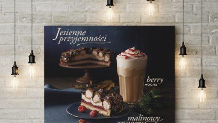 Mẫu thiết kế poster menu đẹp cho quán cafe, tiệm bánh, nhà hàng.