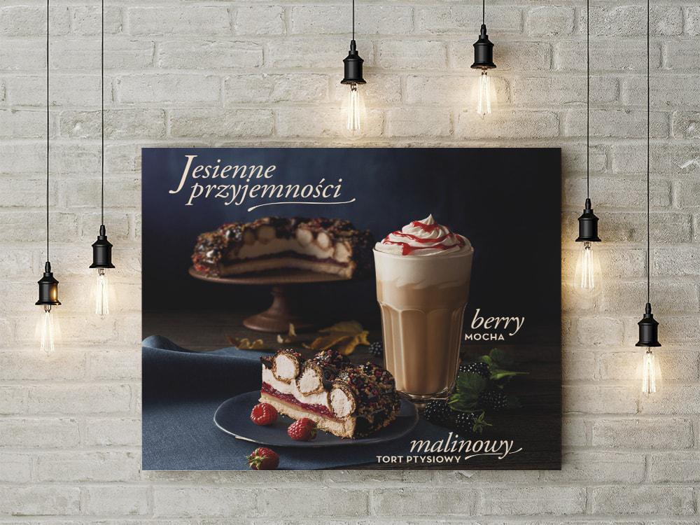 Giới thiệu mẫu thiết kế poster quán cafe bánh ngọt