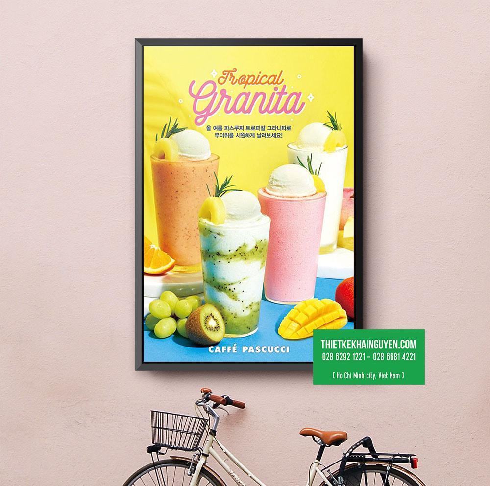 Tropical Granita - poster ngày hè  nồng nhiệt