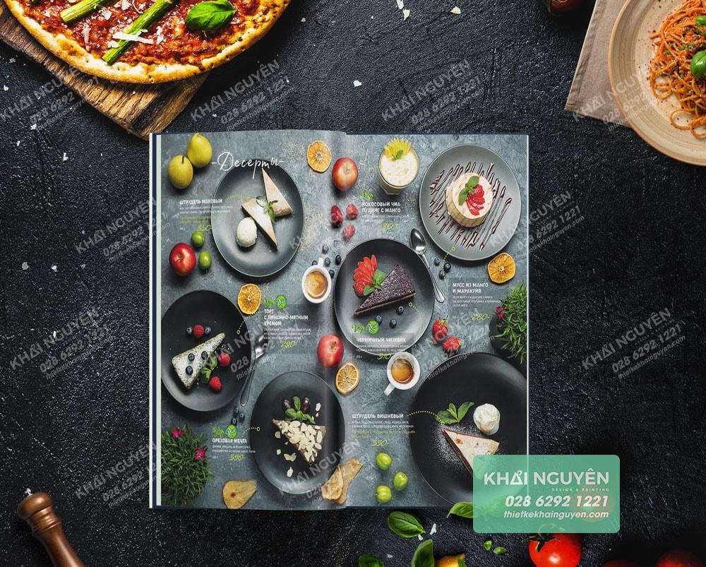 Mẹo thiết kế menu hay cho nhà hàng