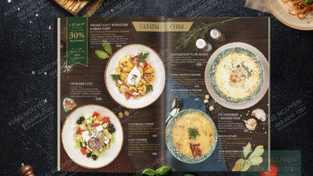 9 mẹo thiết kế menu nhà hàng cực hay, đơn giản mà hiệu quả