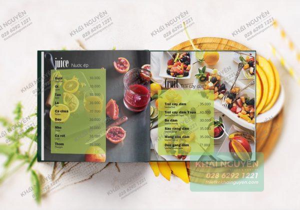 Giới thiệu mẫu thiết kế menu quán cafe đẹp