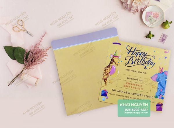 Thiệp sinh nhật - thiệp happy birthday