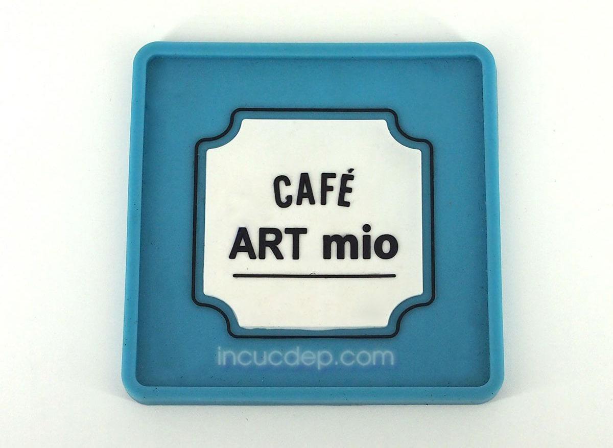 Đế ly bằng nhựa - Cafe Art Mio