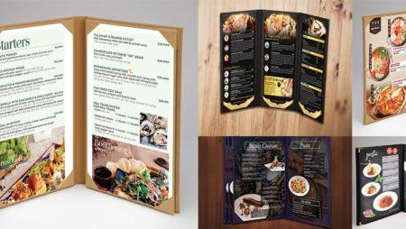 Đặt hàng bìa menu cover, menu holder cao cấp, tiện dụng tại TPHCM.