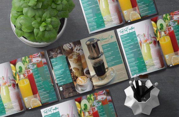 Màu sắc là yếu tố quyết định thiết kế menu có đẹp hay không?