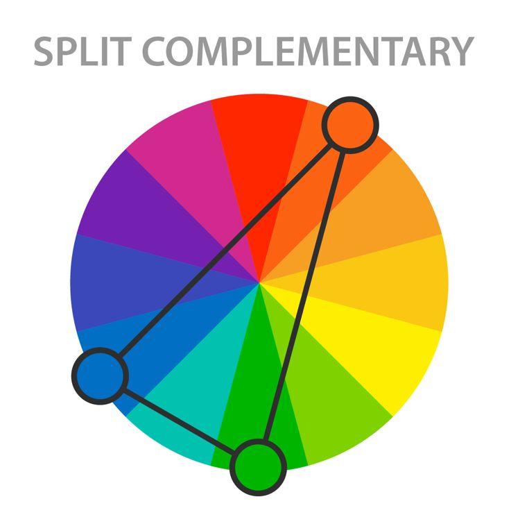Phương pháp phối màu thiết kế bổ sung xen kẻ