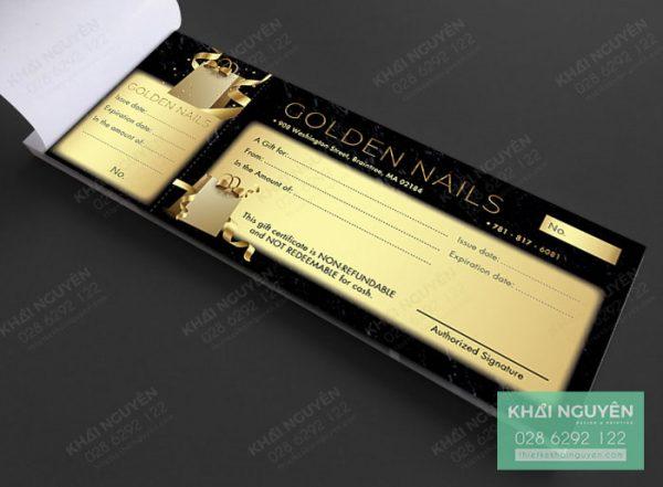 Book voucher cho Golden Nails