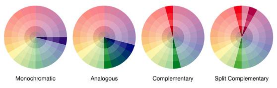 4 Phương pháp phối màu tự nhiên