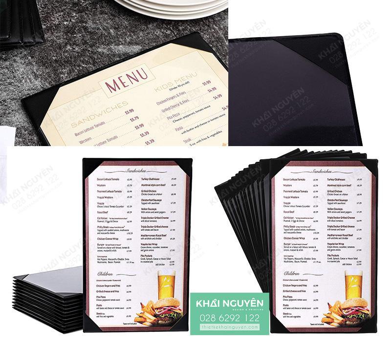 In menu da cover - menu da nẹp gốc