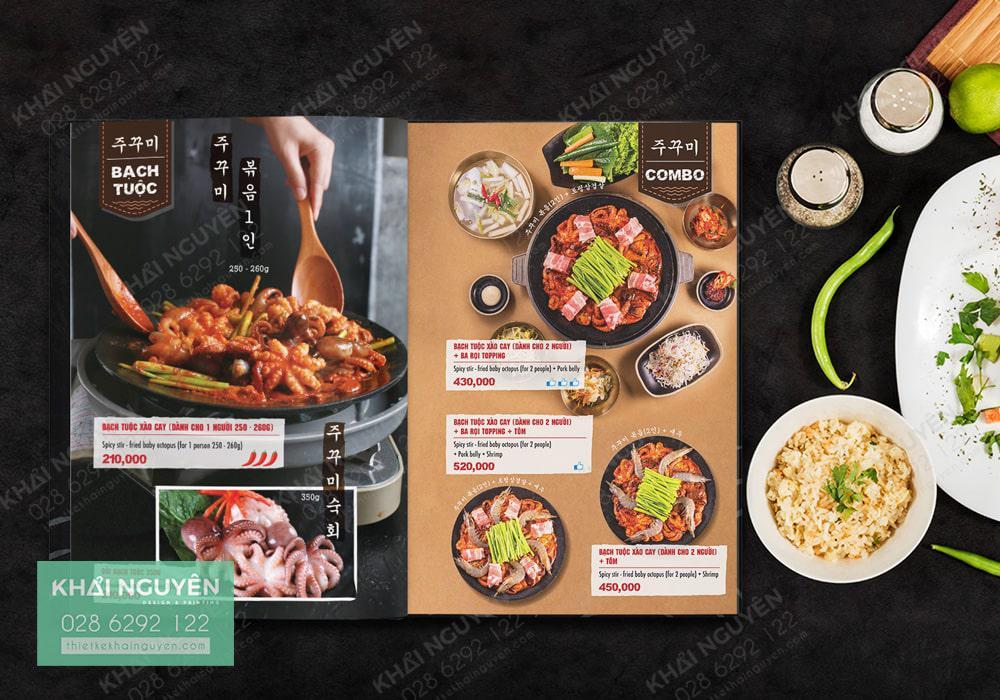Menu BBQ Phong cách Hàn Quốc đỉnh cao