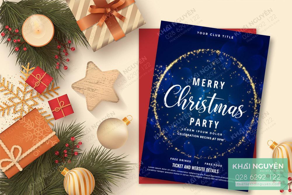 Merry Christmas đầy ý nghĩa với những tấm thiệp mời