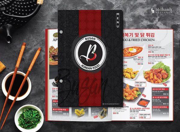 Thực đơn nhà hàng Hàn Quốc