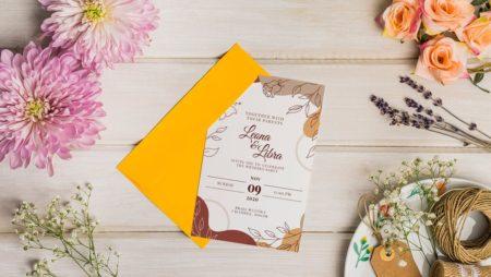 8 mẫu thiết kế thiệp cưới đẹp 2020 – vừa nhìn đã yêu.