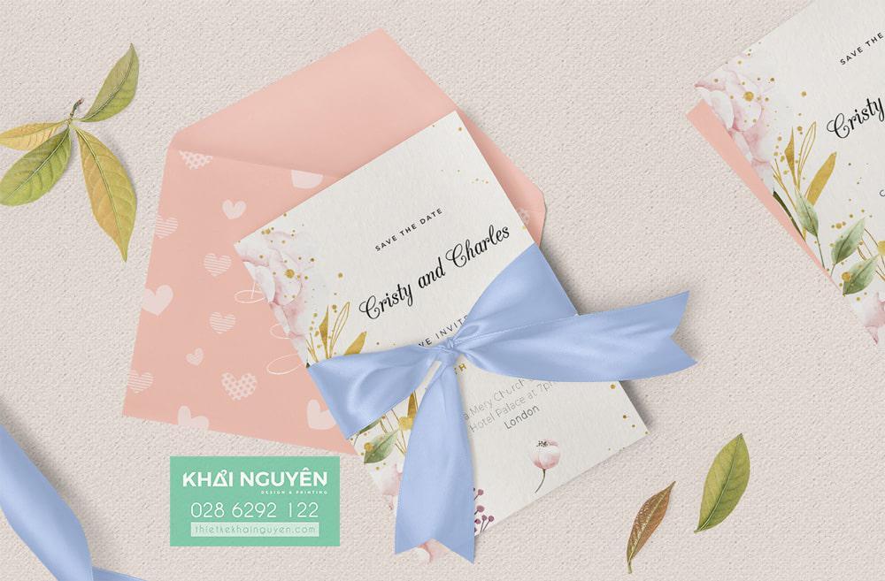 Wedding invitation Card - Thiệp cưới xinh xắn